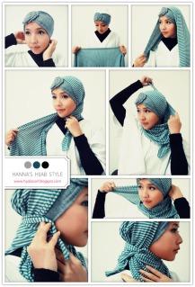hijab tutorial - model jilbab terbaru